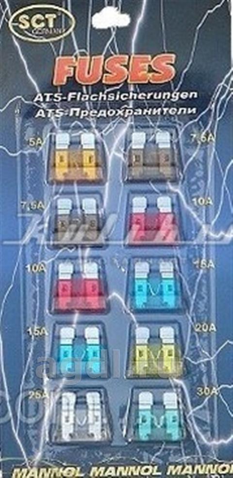 sct 9502 штекерные предохранители mini